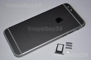iPhone-6-ALU-Cadre-Moyen-space-grau-Boitier-partie-arriere-Coque