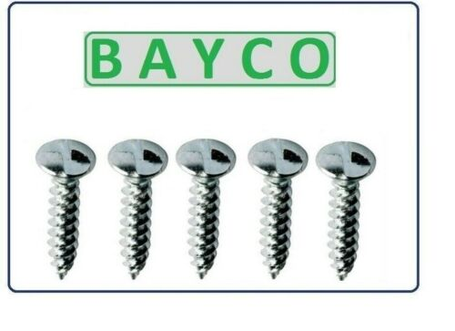 CLUTCH HEAD ONE WAY WOOD SCREW ZINC PLATED. ANTI-VANDAL// NON REMOVABLE SCREWS