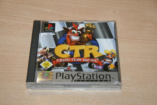 Crash Team Racing (Sony PlayStation 1, 2001) Wie neu top Sammlerzustand USK 0