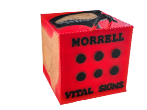 New Morrell Vital Signs Foam Archery Target For Any Bow And Any Arrow Tip