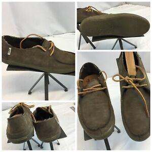 Vans Lace Shoes Sz 9 Men Brown Suede
