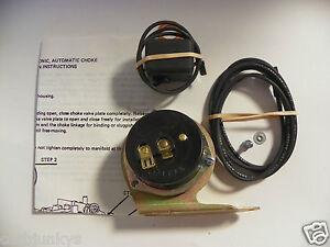 carburetor electric choke conversion kit convert your 72. Black Bedroom Furniture Sets. Home Design Ideas