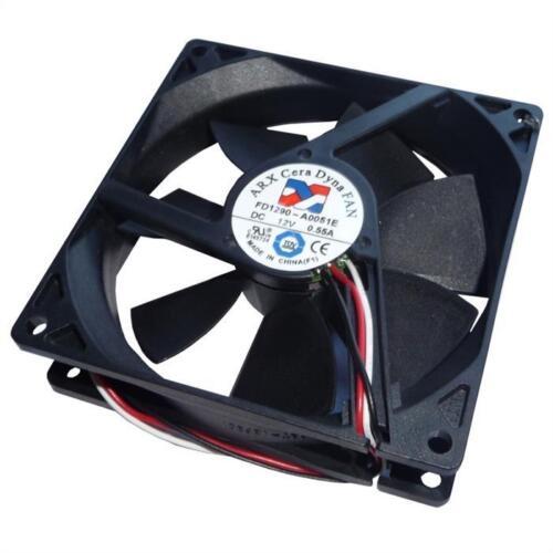 Fan Ventilatore 12V 3,48W 60x60x10mm ; ARX FD1260-A1151A2A
