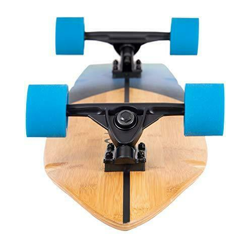 Sunset Retrospec Zed Bamboo Longboard Skateboard Complete Cruiser