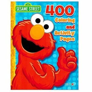 Sesame Street Elmo Coloring Book Jumbo 400 Pages -- Featuring Elmo ...
