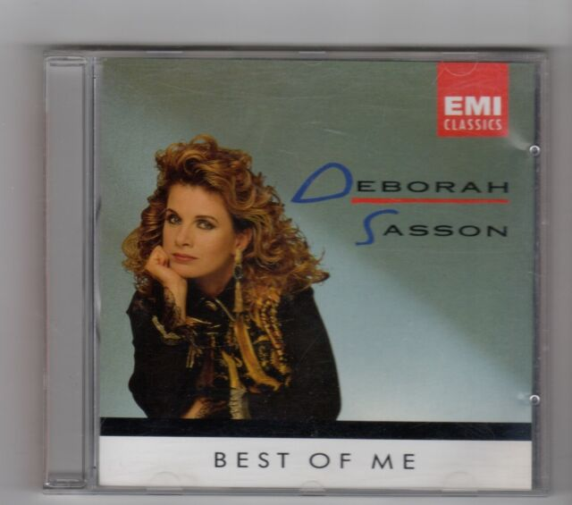 (IN132) Deborah Sasson, Best Of Me - 1992 CD