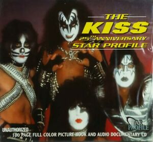 KISS CD - 25TH ANNIVERSARY STAR PROFILE - INCL 100 PAGE BOOKLET - 2000 - C264924