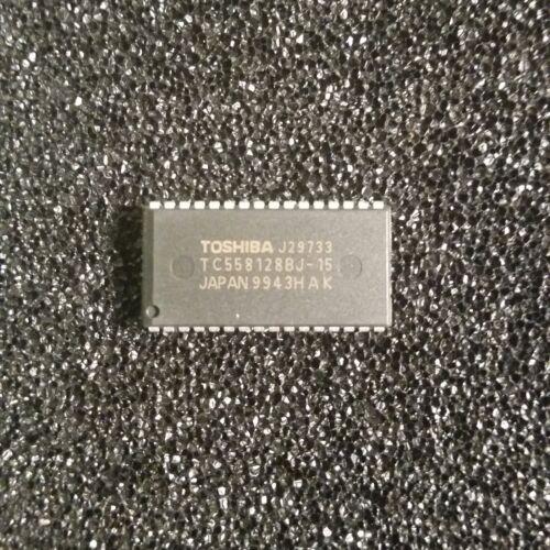 TOSHIBA TC558128BJ-15 IC 131,072-Word By 8-Bit Digital CMOS Static RAM  **NEW**