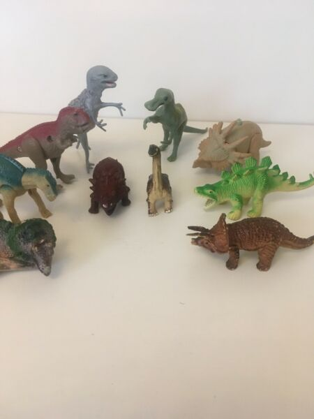 10 Mini Dinosaur Toys
