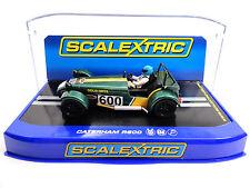 """Scalextric """"Gold Arts"""" Caterham R600 1/32 Slot Car C3309"""
