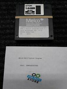 Melco EDS / Epicor software program floppy disks