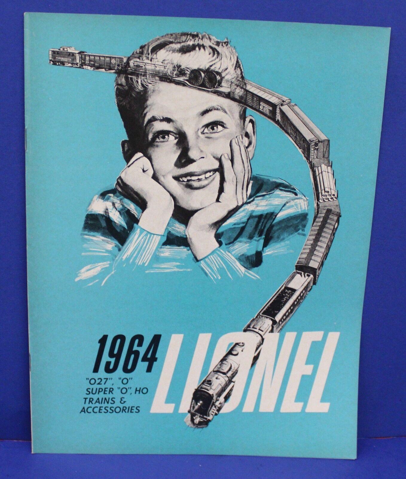 Lionel 1964 Consumer Train Catalog Mint NOS Original O HO O27