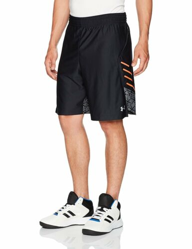"Under Armour Mens Pocket Pashort Sleeve 9/"" Shorts 2 Colors"