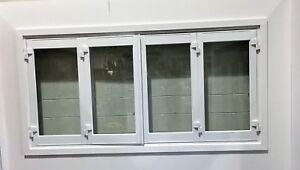 ALUMINIUM-BIFOLD-WINDOW-4-PANEL-NEW-1800-x-1200h-WHITE-IN-STOCK