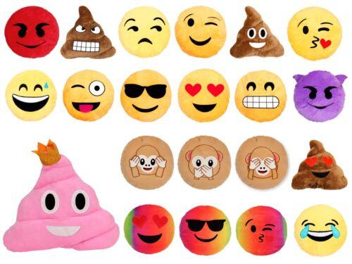 Cuscino decorativo morbido Smiley Emoji emoticone faccine decorazione peluche