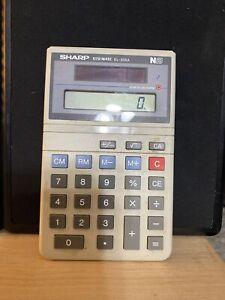 VTG Sharp EL-335A Calculator ELSI MATE N8 SOLAR