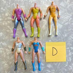 SHE-RA 5 Vintage Doll Body Lot for Customs (D) Princess of Power MOTU POP