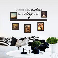 DIY Cadre Photo Tout Image A Un story Art PVC Autocollant Mural Décoration