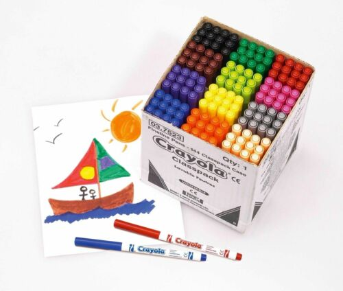 Big Bundle for Schools Events Markers and Paint Class pack Crayola Crayons