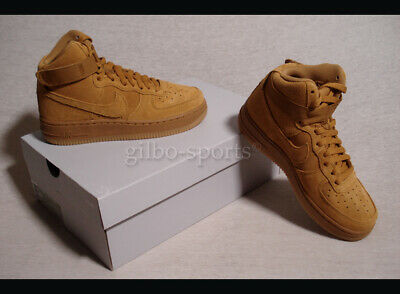 Nike Air Force 1 High LV8 GS Leather Wheat Light Brown Gr. 36 36,5 807617 701   eBay