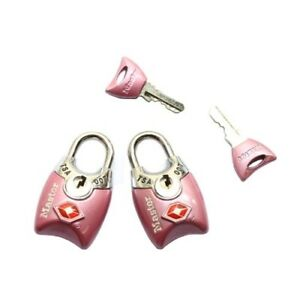Master Lock 4689T TSA Accepted Padlocks with Keys ,(Color may vary)
