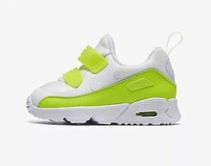 b8ad13c1 Girls Boys Nike Air Max Tiny 90 SE (TD) Shoes (AA2959 100) | eBay