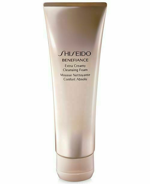 Shiseido Benefiance Extra Creamy Cleansing Foam 4.4 floz/125