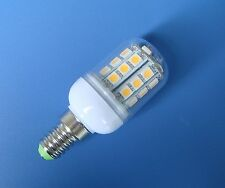 1x E14 30-5050 SMD LED Warm White bulb lamp 220~240V light With cover #E130B