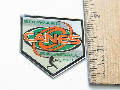 #154 Der Preis Bleibt Stabil Patch Aufnäher Broward Stange Baseball Reversnadel
