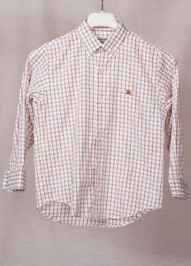 0160df76d Burberry Baby Boy Button Down Shirt 4 Y-104 CM 100% AUTHENTIC   eBay