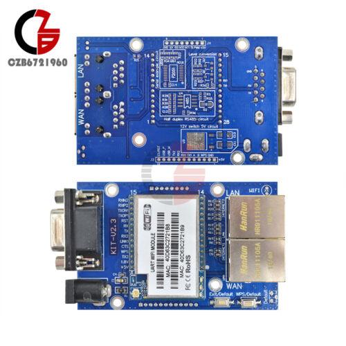 HLK-RM04 Embedded UART-ETH-WIFI Router Development Kit w//Antenna TOP