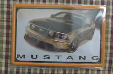 Mustang Mobility Tin Metal Sign Painted Poster Wall Decor Art Garage Shop Hobby