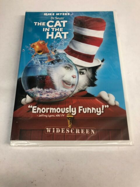 Dr. Seuss' The Cat In The Hat (Widescreen Edition), New, Free Ship