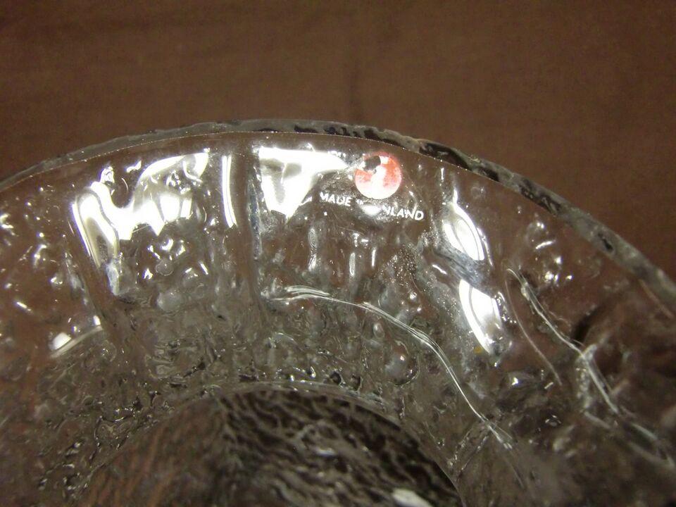 Glas, vase, Iittala