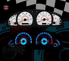 Speedo white dial lightng upgrade custom kit fits Nissan Almera mk2 N15