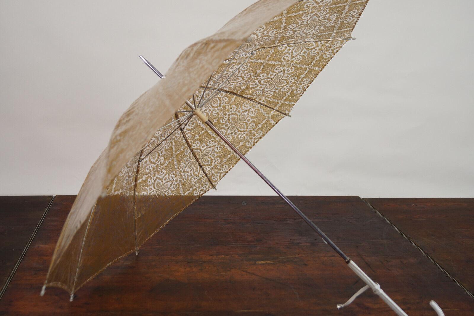 70er True Vintage Umbrella Retro Sunshade Umbrell… - image 9