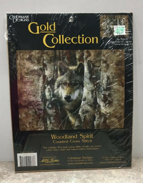 Candamar Designs Gold Collection Last Light Point Lobos Cross Stitch Kit NEW