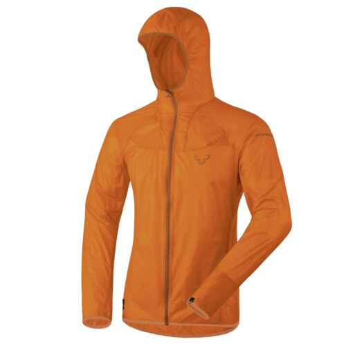 New Dynafit React Ultralight Homme Large Coupe-Vent Pluie Shell Veste PDSF $160