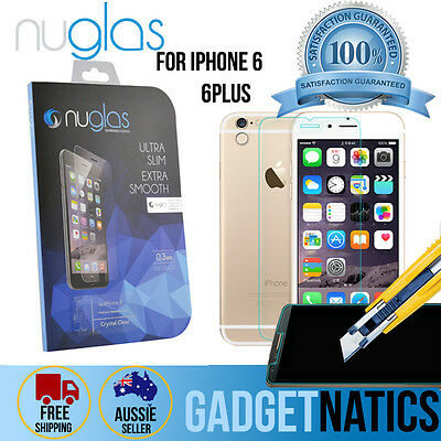 "NUGLAS Tempered Glass Screen protector for Apple iPhone 6 6S Plus 4.7"" 5.5"""