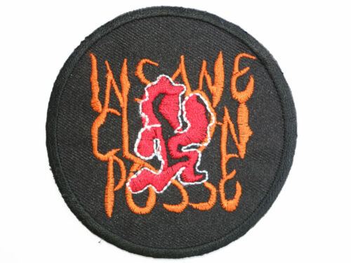 """ICP Insane Clown Posse Embroidered Iron On Patch Badge 3/""""//7.6cm"""