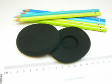 2 Schaumstoff Ohrpolster Polster für Logitech Wireless on-ear Headset H800