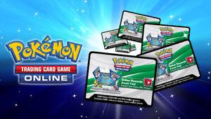 50x Pokemon TCG Online Code - Cosmic Eclipse bulk pack