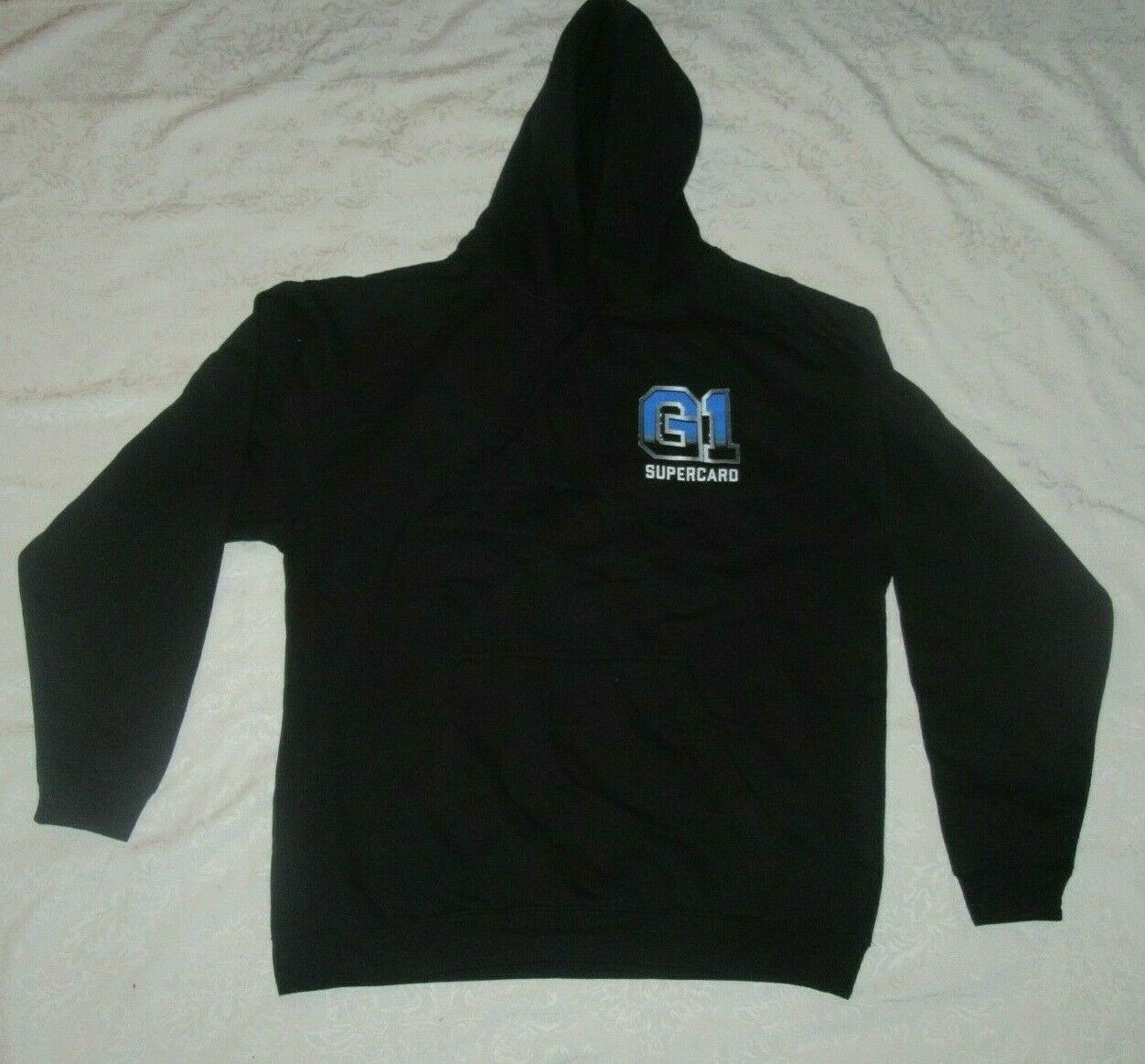 G1 Supercard NJPW ROH NYC MSG New Japan Pro Wrestling Size XL Extra Large Hoodie