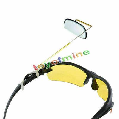 2Pcs 360°Flexible Bike Bicycle Cycling Handlebar Glass Rear View Rearview Mirror