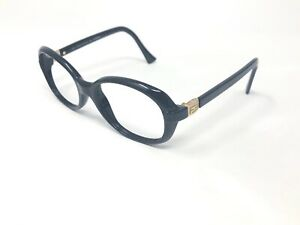 FENDI-ONYX-Sunglasses-Frame-Italy-FS233-54-19-135-Black-Gold-Polished-PH47