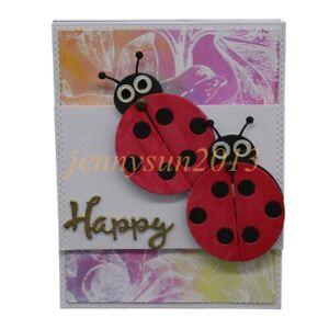Ladybug-Frame-Metal-Cutting-Dies-DIY-Craft-Scrapbooking-Birthday-Wedding-Cards
