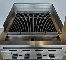 24 Vulcan Char Broiler Grill Cast Iron Radiant Nat Gas 4 Burners New Pilots