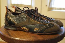 Reebok RBK Fashion Oxford Bowling Style Shoes Men's Size 11 Black Brown Leather