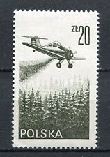 36063) POLAND 1977 MNH** Air Mail - Contemporary aviation 1v