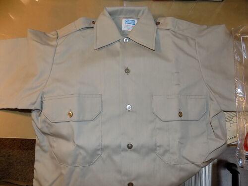 Clifton Men/'s Short Sleeve Uniform Poly//Cotton Shirt/_Police/_EMT/_Security/_Fireman